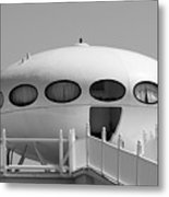 Beach Dome Home Metal Print