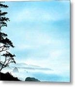 Beach Dreams On The Oregon Coast Metal Print