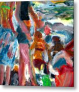Beach Dress Metal Print
