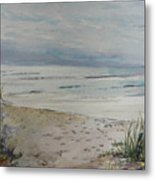 Beach Front Metal Print by Dorothy Herron