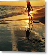 Beach Fun 2 Metal Print