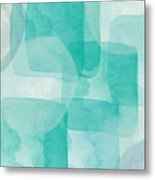 Beach Glass- Abstract Art By Linda Woods Metal Print