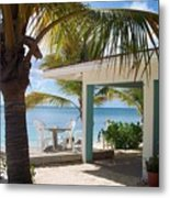 Beach In Grand Turk Metal Print