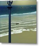 Beach And Coastal Lighting Metal Print