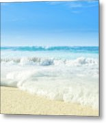 Beach Love Summer Sanctuary Metal Print