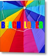 Beach Lover Metal Print