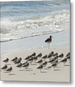 Beach Mantra Metal Print