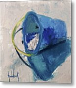 Beach Pail Pal Metal Print