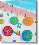 Beach Painting - A Walk In The Sun Metal Print