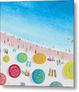 Beach Painting - Beach Bliss Metal Print