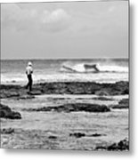 Beach Patrol Metal Print