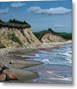 Beach Metal Print by Paul Walsh