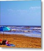 Beach Picnic Metal Print