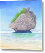 Beach Rock  Metal Print