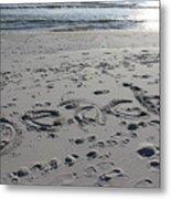 Beach, Self-named Metal Print