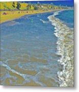 Beach Summer Midday Midweek Metal Print