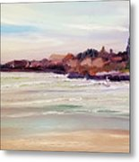 Beach Warmth Metal Print