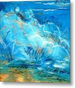 Beach Wave IIi Metal Print