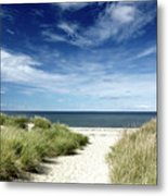Beach, Welfleet Ma Metal Print