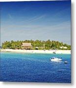 Beachcomber Island Metal Print