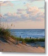 Beaches Of Outer Banks Nc Metal Print