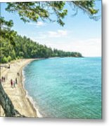 Beaches Of The Pacific Northwest Metal Print
