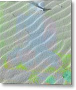 Beachscape Tranquility Metal Print