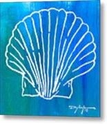 Beachside Shell Metal Print