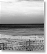 Beachwalker Metal Print