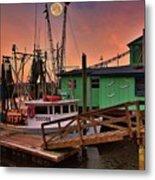Beacon 1 Seafood Metal Print