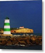 Beacon For Storms A Comin' Metal Print