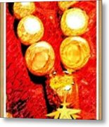 Beads And Baubles Metal Print