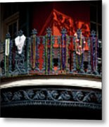 Beads In The French Quarter Metal Print