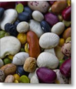 Beans Of Many Colors Metal Print