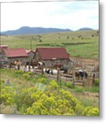 Bear Basin Ranch Metal Print