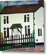 Bear Cottage Metal Print