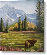 Bear Country Metal Print