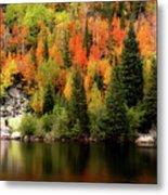 Bear Lake Autumn Metal Print