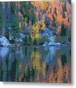 Bear Lake Colorado Poster Metal Print