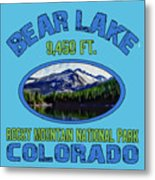 Bear Lake Rocky Mountain National Park Colorado Metal Print
