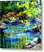 Bear Paw Stream Metal Print