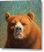 Bearish Metal Print