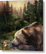 Bear's Eye View Metal Print