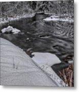 Bearskin Creek Riffles Metal Print