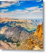 Beartooth Highway Scenic View Metal Print