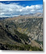 Beartooth Mountain Vista Metal Print