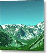 Beartooth Mountains Metal Print