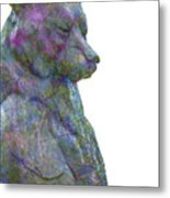 Beary Bear Metal Print