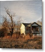 Beat Up Old House Metal Print