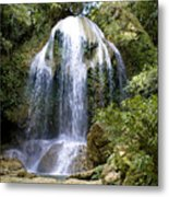 Beatifull Cuban Waterfall Metal Print